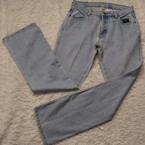Harley-Davidson High Rise Light Wash Blue Jeans